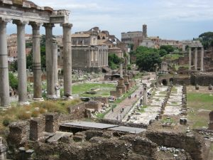 The Roman Forum (photo by traveldigg)
