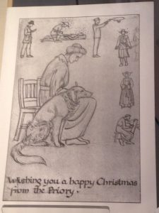 Christmas Card by Margaret Rope 1916