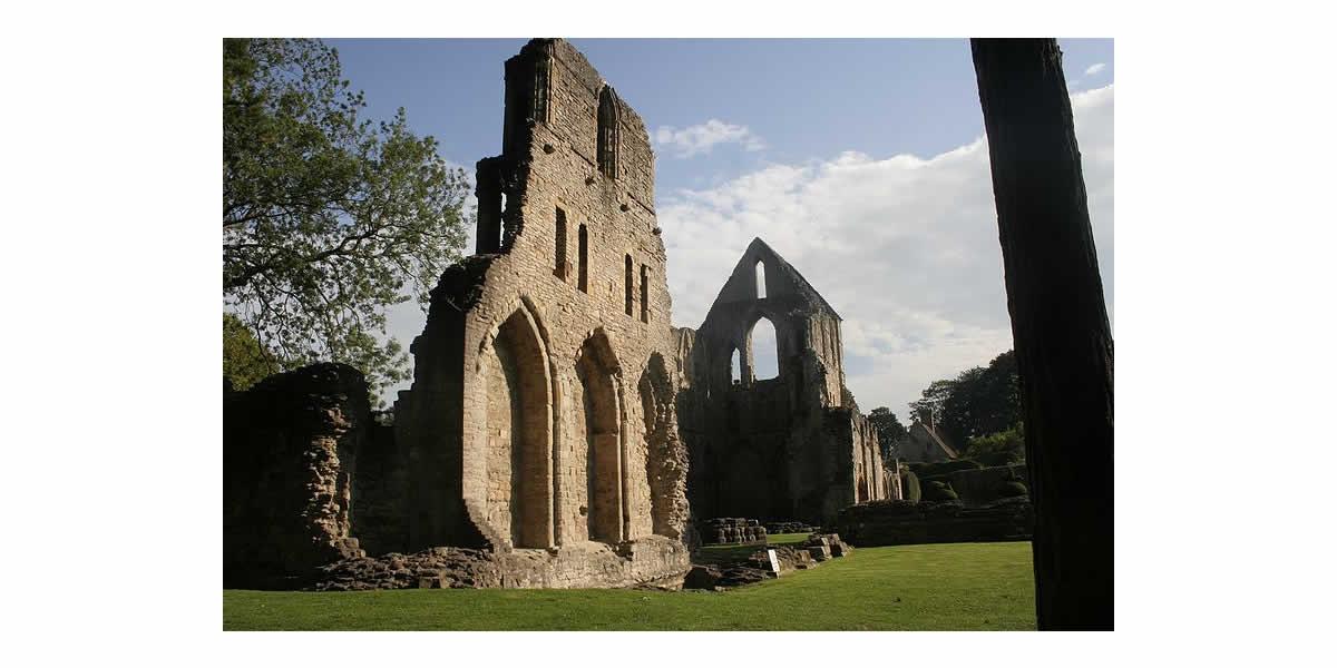 Wenlock Priory - a Cluniac house